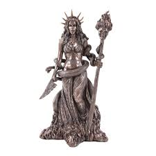 greek god statue hecate goddess witchcraft greek god statue frost art gifts of gods
