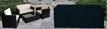 housse pour mobilier de jardin housse salon de jardin gifi qaland