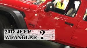 2018 jeep wrangler redesign news 2018 jeep wrangler unlimited redesign interior spy
