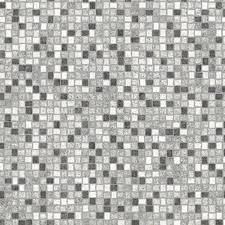 white grey mosaic tile vinyl flooring