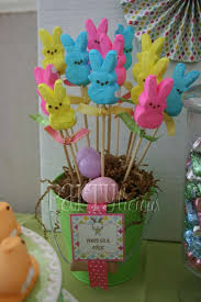Easter Table Decorations With Peeps by Diy Easter Centerpieces U2013 A To Zebra Celebrations