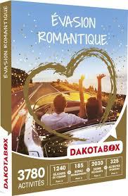 Coffret Cadeau évasion En Amoureux Coffret Cadeau Dakotabox Evasion Romantique Coffrets Cadeaux