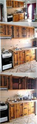 diy pallet kitchen cabinets choose one idea for your next diy pallet projects pallets