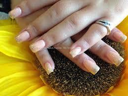 eye candy nails u0026 training acrylic nails with peach gelish gel