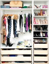 20 ways to organize your bedroom closet drawers shelves and spaces