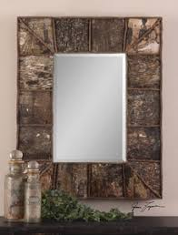 Uttermost Mirror Uttermost Collection Cabin Themed Mirrors Lodge Craft
