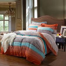 blue and orange bedding romantic orange bedding orange and white contemporary cute