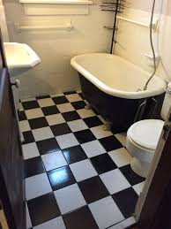black and white bathroom ideas pictures before after a black white bathroom gets an update