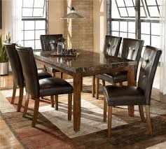 Rustic Leather Dining Chairs by Kitchen Magnificent Rustic Dining Table Dining Table And Chairs