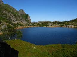 heiavatnet a small lake on the track to presten photos diagrams