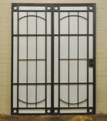 French Security Doors - security displays artistic iron works ornamental wrought iron