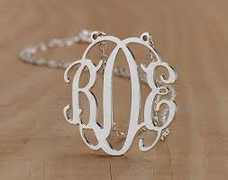 2 Inch Monogram Necklace 10 Best Accessories Images On Pinterest Cushions Home And Diy