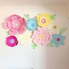 paper flower paper flower wall decor 16 steps with pictures