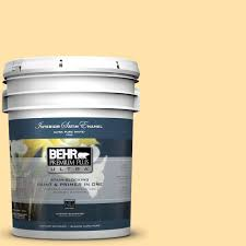 behr premium plus ultra 5 gal p270 3 sunflower seed satin enamel