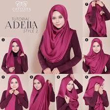 tutorial hijab pashmina kaos yang simple 595 best hijab tutorial images on pinterest hijab styles hijab