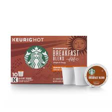 starbucks breakfast blend medium roast single cup coffee for
