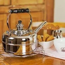 sur la table tea kettle copco cambridge stainless steel teakettle cookware pinterest