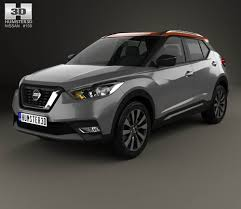 nissan kicks 2017 blue nissan kicks concept 2014 3d model hum3d