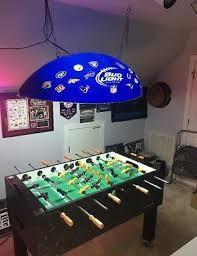 bud light pool table light bud light nfl football pool table light all team logos man cave bar