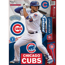 Custom Fatheads Wall Stickers Kris Bryant Chicago Cubs Teammate Wall Decal By Fathead