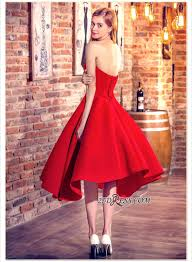 christmas cocktail party dress cocktail dresses sweetheart neck red short hi lo chic party