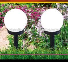 Ball Solar Lights - garden outdoor solar ball sphere round light buy garden solar