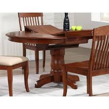 round pedestal dining table with butterfly leaf iconic furniture cinnamon company 42 inch round dining table with 42