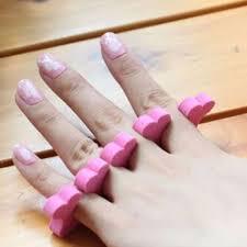 soft sponge foam finger toe finger separator finger nail art salon