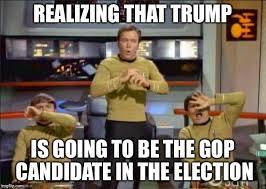 Meme Generator Star Trek - star trek gasp imgflip