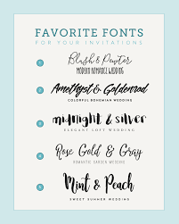 wedding invitations font five font pairings to match your wedding style budget savvy