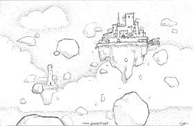 castle in the clouds by joieart on deviantart