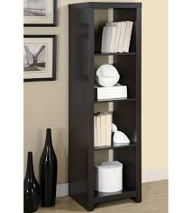 bookcase tall narrow bookcase cheap bookshelf metal bookshelves