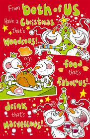 humorous christmas cards humorous christmas card from both of us