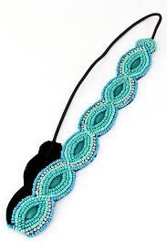 headband elastic seed bead elastic headband hair accessories
