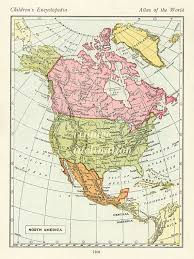 america map zoom vintage map united states usa canada map america maps
