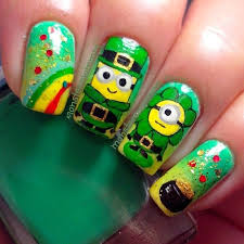 st patrick u0027s day nail art designs this u0027s life blog
