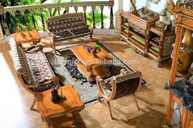 Wine Bar Table Luxury French Style Baroque Home Bar Furniture Retro Whole Set Bar