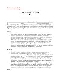 best photos of printable samples of last wills and testaments