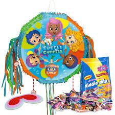 bubble guppies pinata kit each party supplies walmart com