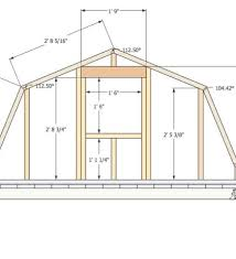 Gambrel House Floor Plans Plans House Plans 2 Bedroom House Small Gambrel Roof House