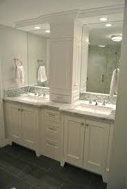 Narrow Bathroom Sink Kohler Floating Vanity Narrow Bathroom Sink Double Trough White
