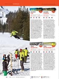 ski canada test 2014 slalom ski canada magazine