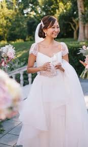 reem acra lily 2 800 size 6 used wedding dresses