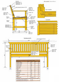Garden Wood Furniture Plans by Outdoor Wood Bench Plans U2022 Woodarchivist
