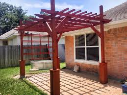 Pergola Free Plans by Ana White Pergola Diy Projects