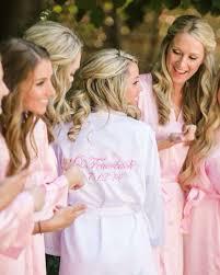 bridesmaid satin robes robes set of 8 bridesmaids robes bridesmaid robes satin robes in