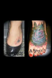 foot tattoo scar cover up u2013 tattoo picture at checkoutmyink com