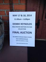 debbie reynolds u0027 hollywood heartbreak auction observer