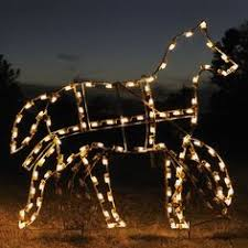 Outdoor Christmas Decorations Horse And Carriage by Victorian Scenes Lighted Outdoor Christmas Decorations Victorian
