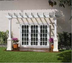 Attached Pergola Plans by Pergola Attached To House Pergola Attached To Home City